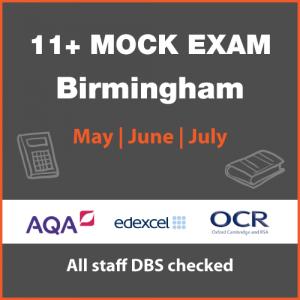 11+ Mock Exam – Birmingham